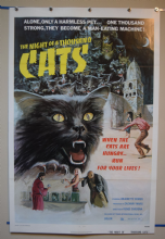 Night of a Thousand Cats Movie Poster - One Sheet.